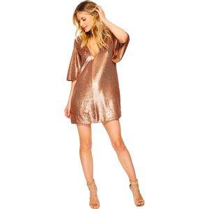 THE JETSET DIARIES Faro Sequin Mini Dress